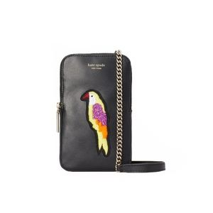 🎁Kate Spade Beaded Flock Party Phone Crossbody